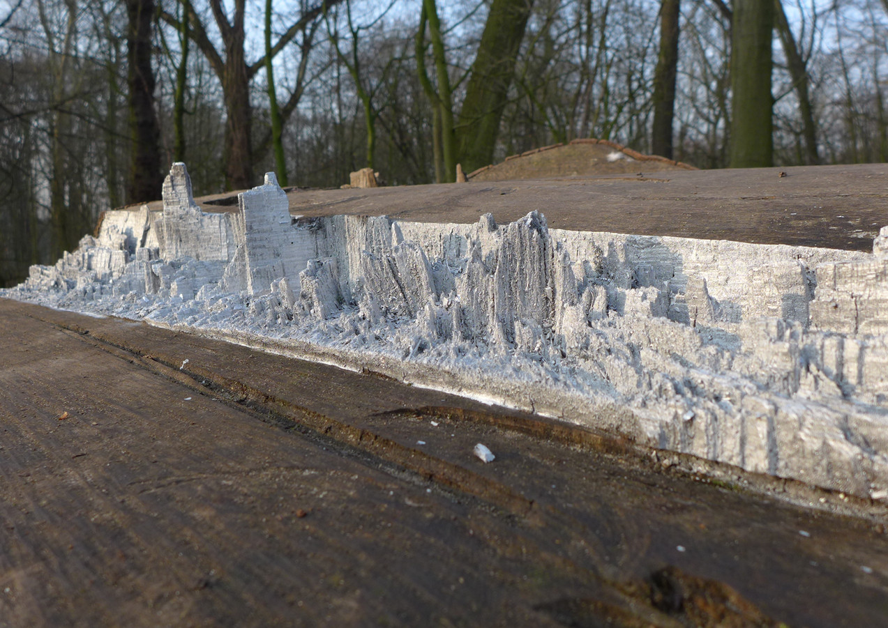"""Skyline"" Installation Kaisergarten Oberhausen, 2019"
