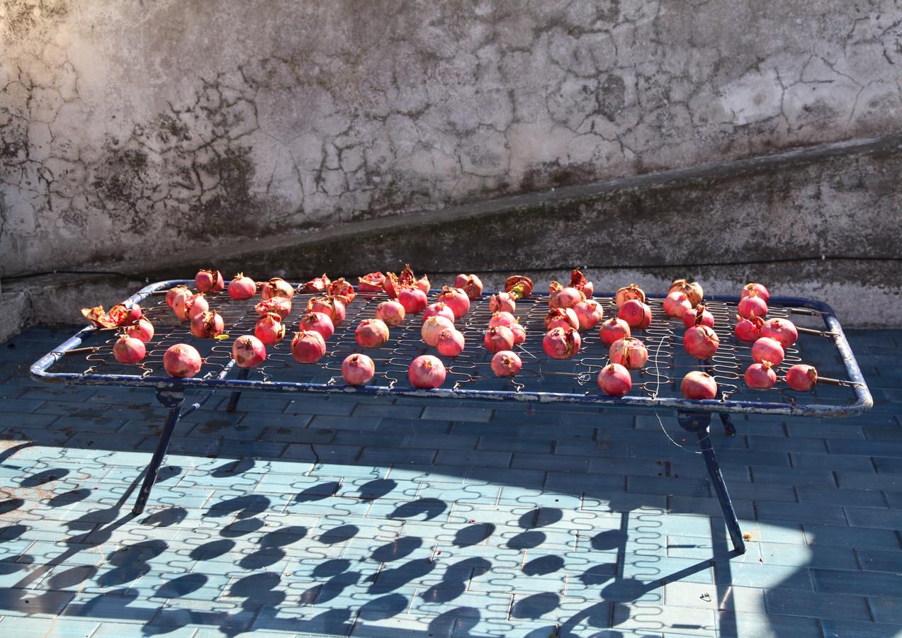 """""""letto per Barbara"""" Installation Stromboli, 2014"""
