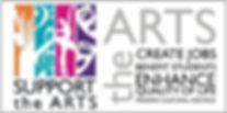 Support the Arts sticker.jpg