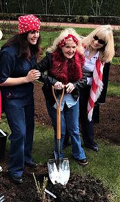 Oregon Rosie planting Rosie roses.jpg