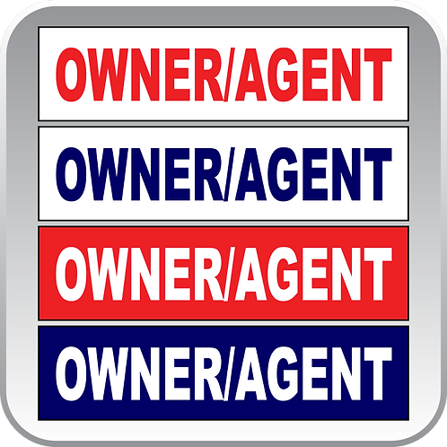 Owner/Agent