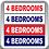 Thumbnail: 4 Bedrooms