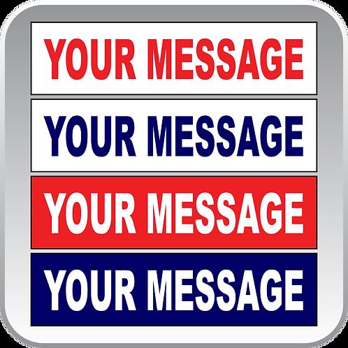 Custom Message Rider