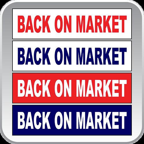 Back on Market