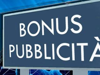 Bonus pubblicità, una buona opportunità per le aziende