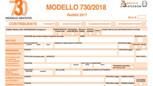 MODELLO 730 2018: LE PRINCIPALI NOVITA'