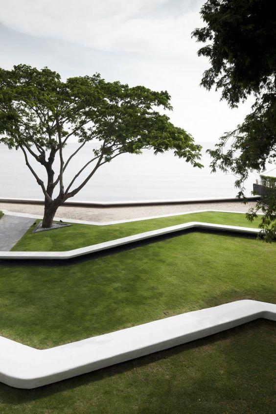 Форма в ландшафтной архитектуре. Про сад. Дизайн сада.