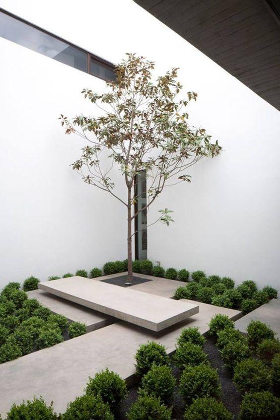 Лаконичное пространство. Ландшафтная архитектура