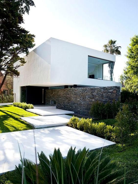 Современная архитектура. Ландшафтный дизайн