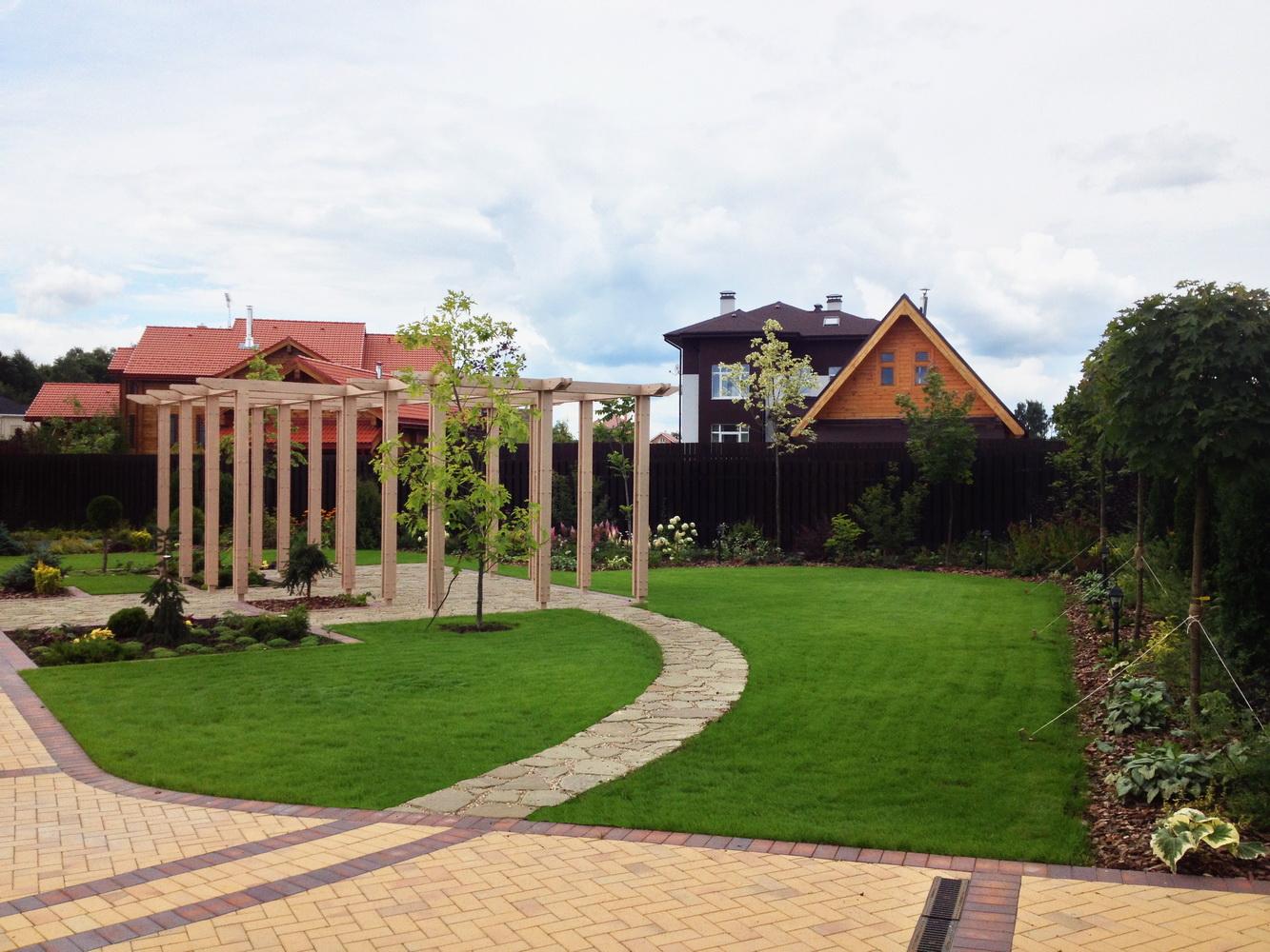 Зона отдыха, Площадки, Дизайн сада