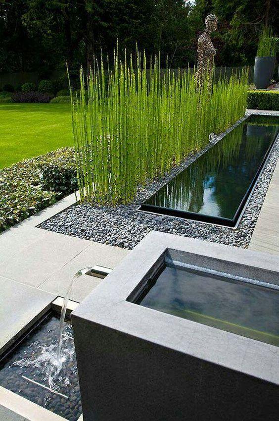 Качествено выполненные работы в саду в современном стиле
