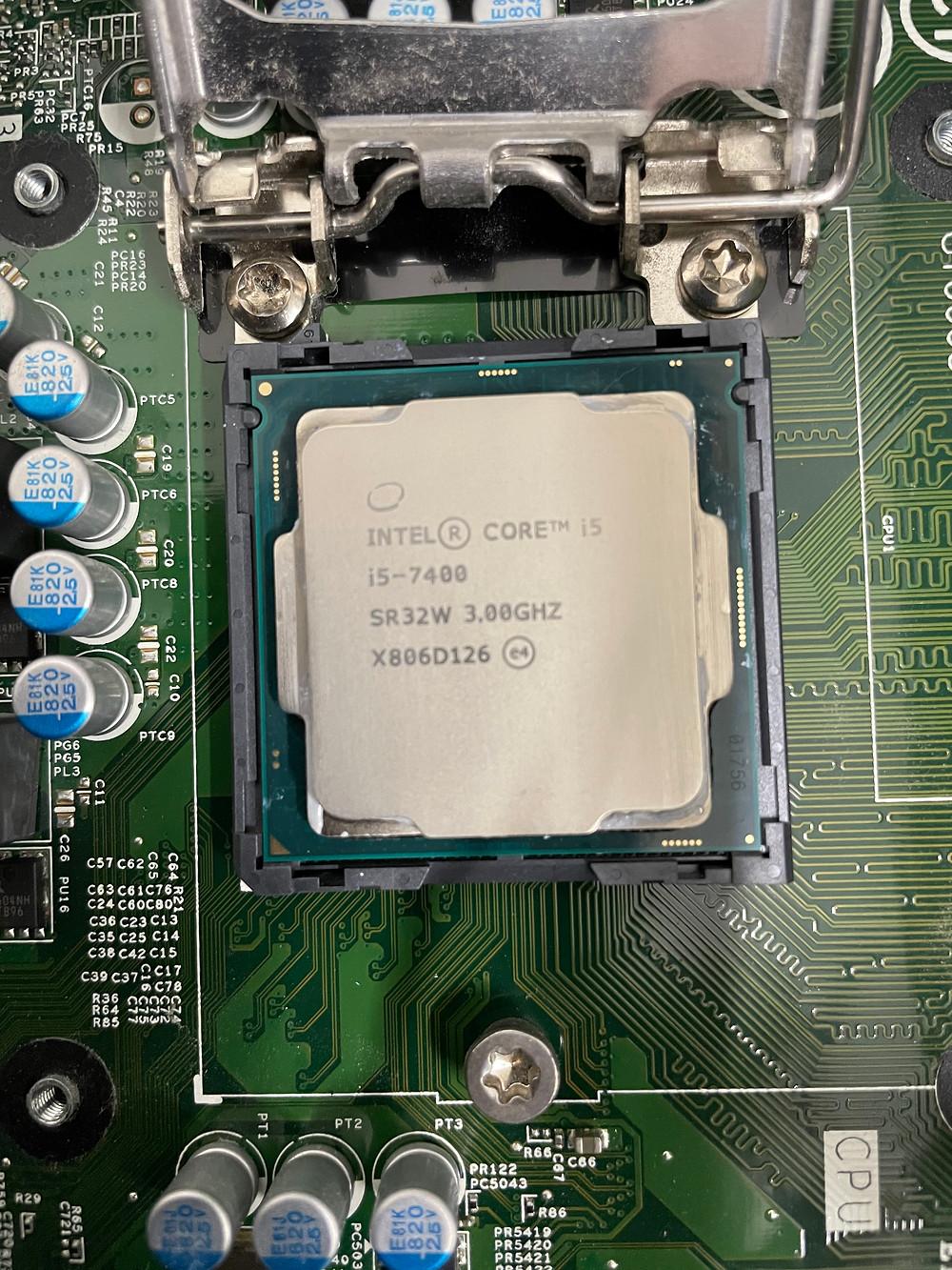 パソコンのCPUグリス交換
