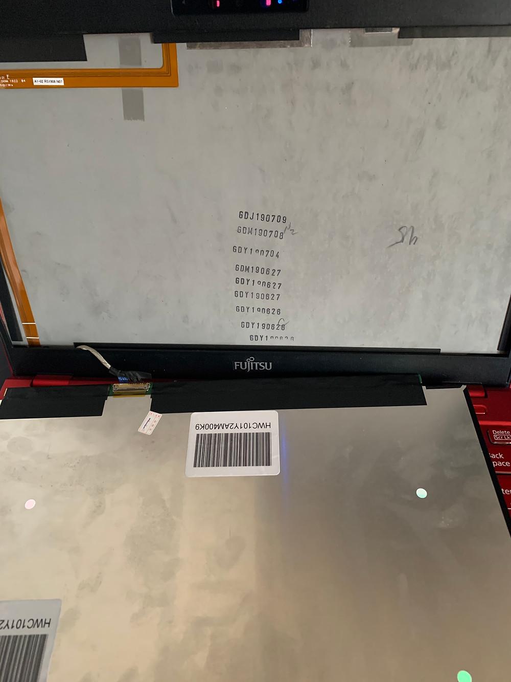 パソコン液晶修理
