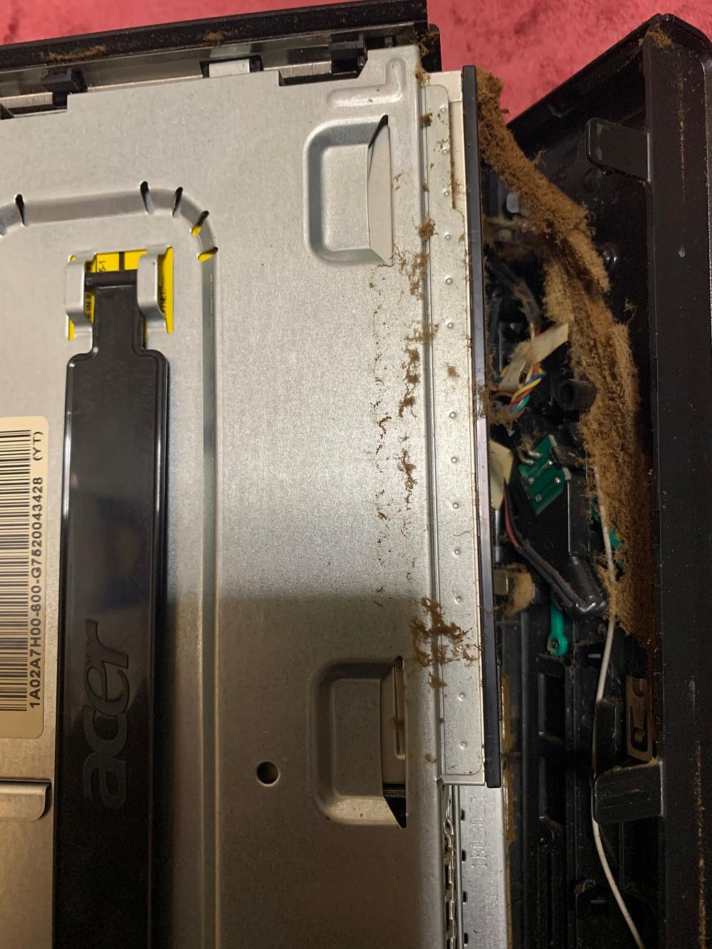 パソコン清掃画像