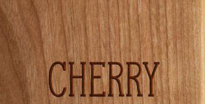 """10"""" x 16"""" Cherry Sign"""