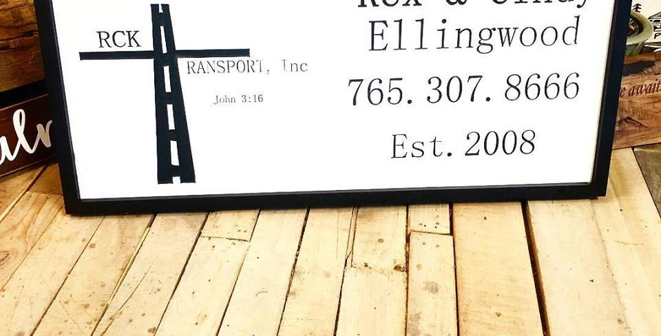 Custom Biz/Home Sign