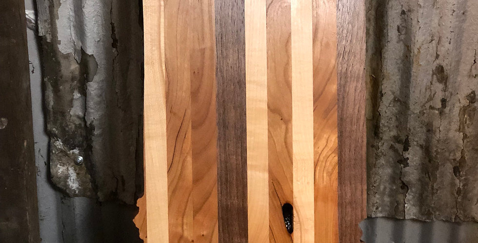 Indiana Shaped Cutting Board