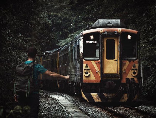 Sometimes the wrong train takes you to t
