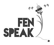 Fen Speak Logo B+W