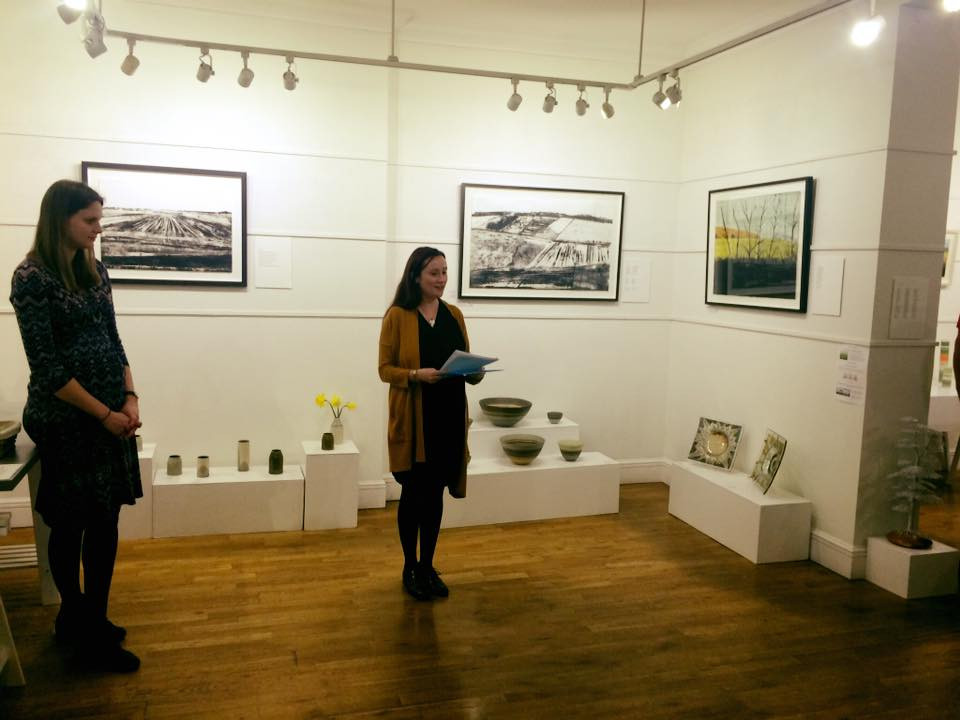 CCA poetry reading event 26 March, image copyright Yasmin Finch