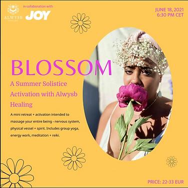 Blossom: A Summer Solstice Activation