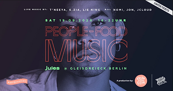People, Food, MUSIC by African Food Festival Berlin