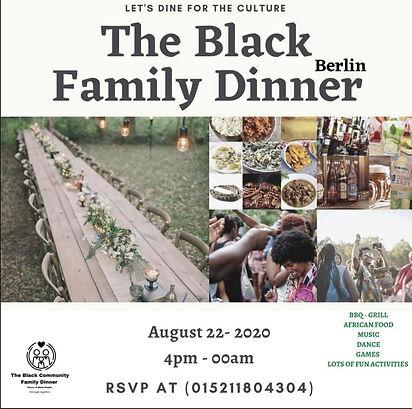 The Black Family Dinner