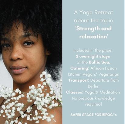 Yoga Retreat for BIPOC * s