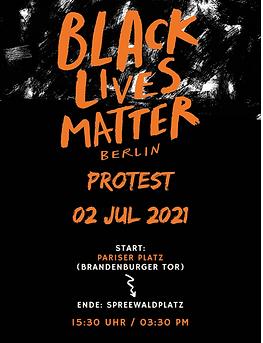 Black Lives Matter Protest 2021