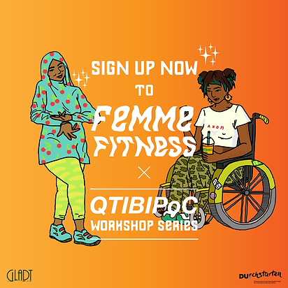 Self-Care & FemmeFitness QTIBIPoC Workshop Series
