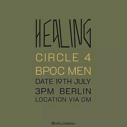 Healing Circle 4 BPOC Men