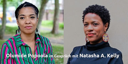 Olumide Popoola: Sit down / Lesung & Gespräch mit Natasha A. Kelly