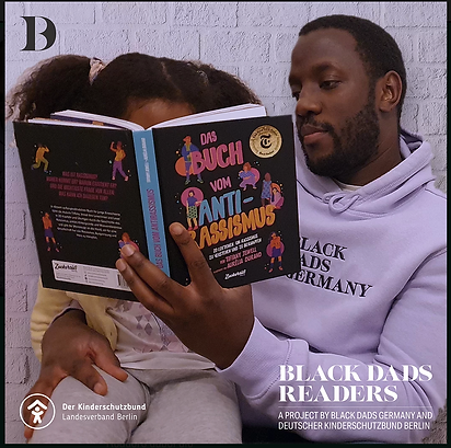 BLACK DADS READERS x Kinderschutzbund