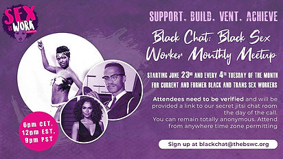 Black Chat: Black Sex Worker Monthly meetup