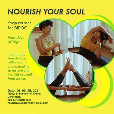 "BIPOC Yoga retreat ""Nourish your soul"""