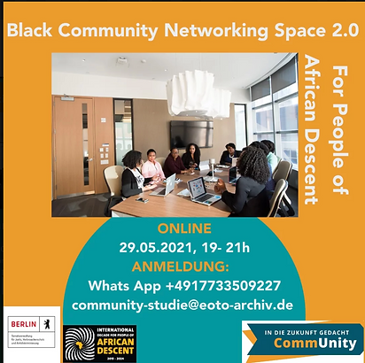 Black Community Networking Space 2.0