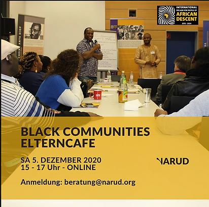 Black Communities Elterncafé