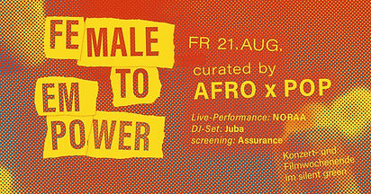 Female To Empower: Afro x Pop