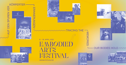 EMBODIED ARTS FESTIVAL
