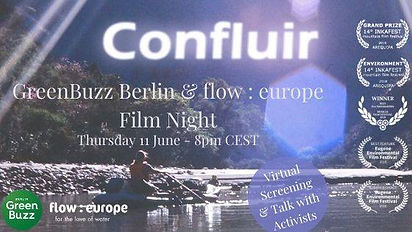 GreenBuzz Berlin & flow : europe // Film Night - Confluir