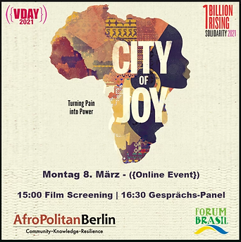 Online | V-Day Berlin 2021: City of Joy