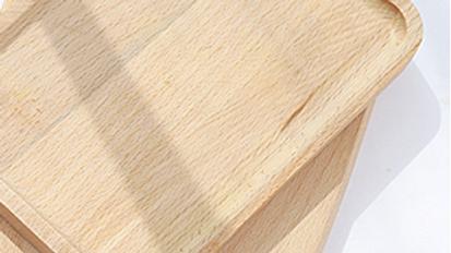 長型櫸木盤
