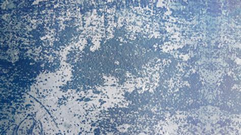 雙面藍水泥背景纸