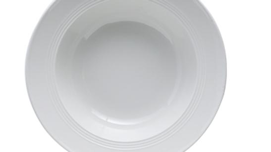 米白色草帽型陶瓷餐碟