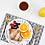 Thumbnail: 餐桌布-灰色箭矢紋