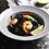 Thumbnail: 米白色草帽型陶瓷餐碟