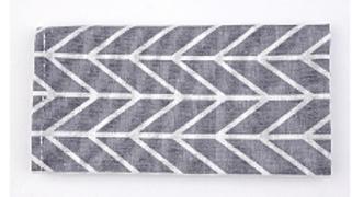 餐桌布-灰色箭矢紋