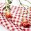 Thumbnail: 餐桌布-紅格仔