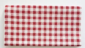 餐桌布-紅格仔