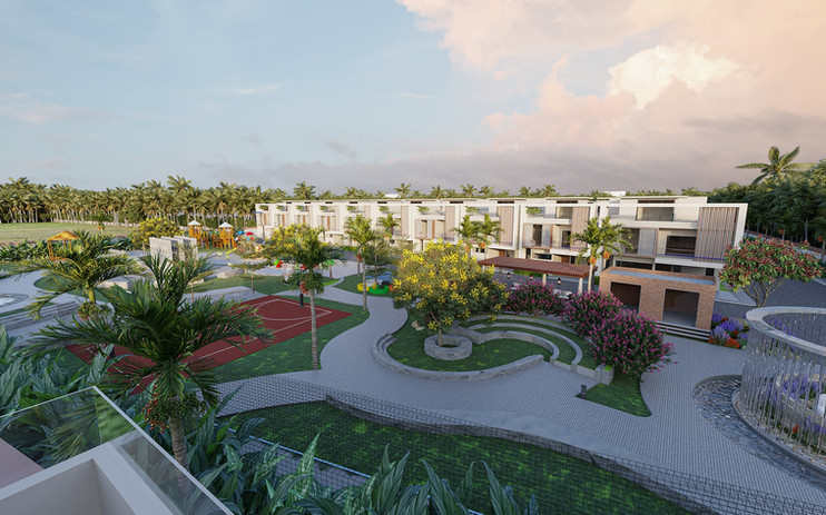 55% Open Spaces for Amenities